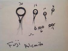 Fuji black Alconite Guides Spinning