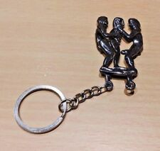 Sexy Lover Metal Key Ring Chain - Funny For Him or Her (Type 6)