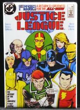 "Justice League  #1 Comic Book Cover 2"" X 3"" Fridge / Locker Magnet."
