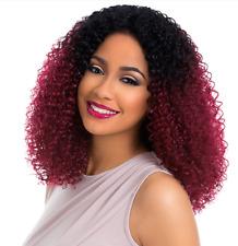 Sensationnel Empress Custom Lace Front Wig KINKY CURL COLOUR 1B