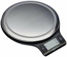 AmazonBasics Stainless Steel Digital Kitchen Scale w/ LCD Display Batteries Incl