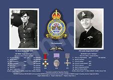 aviation art pilot photo colour WW2 617 Squadron Dambusters crew Maltby Knight