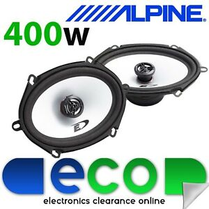"Ford Transit MK7 Van 400 Watts Alpine 5 x 7"" Front Door Car Speaker Upgrade Kit"