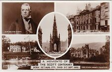 Sir Walter Scott Centenary 1832 - 1932, MELROSE, Roxburghshire RP