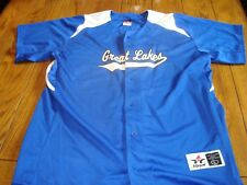Great Lakes #1 Baseball Jersey - by Alleson Athletics - Size Large