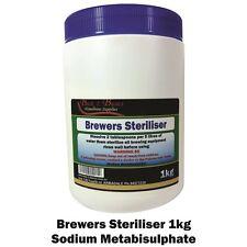 Sodium Metabisulphite 1kg, Brewers Steriliser, Sodium meta Bisulfite - Na₂S₂O₅