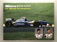 Vintage Williams Renault f1 World Champions