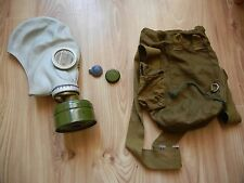 Size 1 Gas Mask Radiation Gp-5 Russian Ussr Soviet Civilian Respirator