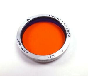 Rollei-Orange Filter - Bay I for Rolleiflex Cameras