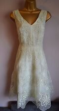 New Ted Baker Langley Letaa Ltd Ed 12 Floral Silk Organza Wedding Dress £295