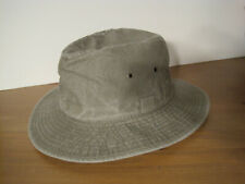 STETSON cotton traveller INDI outback HAT olive SMALL