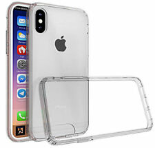 For iPhone X Superior Quality Case Crystal Transparant Clear Flexible Gel Cover