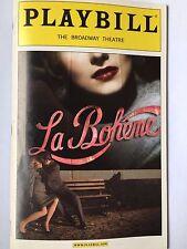 Baz Luhrmann's La Boheme - May 22, 2003 Playbill