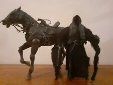 Lord Of The Rings Ringwraith & Horse Deluxe Set Complete Toybiz