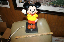 Vintage Mickey Mouse Lamp  Bobble Style Walt Disney Productions .. Works!   JSH