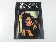 SIOUXIE AND THE BANSHEES - RAY STEVENSON'S - LIBRO - OMNBUS PRESS 1986 - LX3