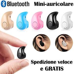 Mini Auricolare Bluetooth sport stereo senza fili Cuffie Wireless con Microfono