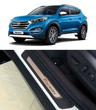 OEM Genuine Side Door Scuff Plate Step LH RH 4p For 2016 Hyundai Tucson