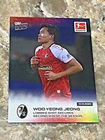 2020 Topps NOW Bundesliga SC Freiburg Woo-Yeong Jeong #59 Soccer Card
