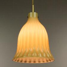 VTG Doria Lampada pendant Bell LAMP Hollwood Regency Crown Style 60er 70er anni