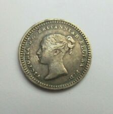 More details for 1842 queen victoria silver 3 half pence coin bun head spink ref 3915 ef