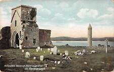 uk22590 antiquities devenish island lough erne fermanagh northern ireland uk