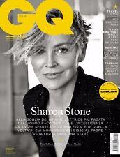 GQ Magazine Italia Italy September 2017 Sharon Stone Dane DeHaan NEW