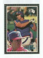 "LARRY PARRISH (Texas Rangers) 1985 DONRUSS JUMBO CARD (3 1/2"" X 5"") #29"