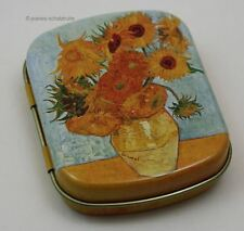 "Minidöschen Mini Dose Box van Gogh ""Sonnenblumen"""