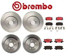 Brembo Front Rear Full Brake Kit Disc Rotors Ceramic Pads For Lexus RX330 RX350