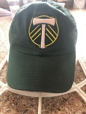 Portland Timbers Fanatics Fundamental Adjustable Hat Green & Green Beanie MSL