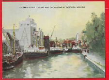 F.T. Everard, Loading & discharging at Norwich, Norfolk, shipping