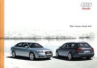 0295AU Audi A4 Prospekt 2004 9/04 deutsche Ausgabe brosjyre
