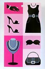 250 Clothing Tags Hang Tags Pink Black Accessory Tags Retail Tags Handabag Tags
