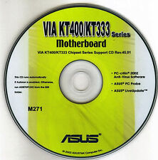 ASUS A7V333-X Motherboard Drivers Installation Disk M271