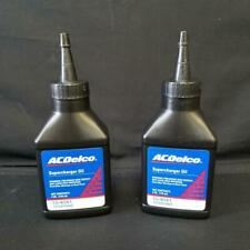 (2) 4 oz Bottles of Genuine GM OEM AC Delco Supercharger Oil Eaton 10-4041