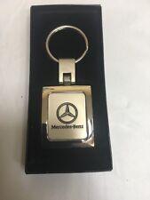Mercedes Benz Key Ring Key Chain Metal With Logo Ml C G Gl E GLK CLK AMG + Box