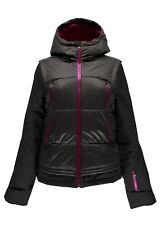 NEW SPYDER MOXIE JACKET WOMENS 14 WELD WATERPROOF INSULATED SKI SNOW FREE SHIP