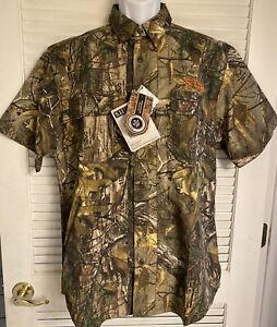 :Men's 5.11Tactical Realtree Camo Taclite S/S Shirt - Medium