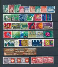Switzerland Used Lot (9v)