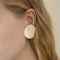 Womens Fashion Gold Geometric Dangle Drop Statement Ear Stud Earrings Jewelry