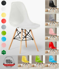 Mila Eiffel Dining Chair Retro Vintage Modern Class Dining Room FREE NEXT DAY UK