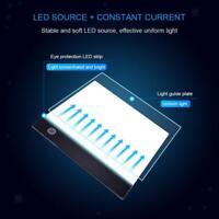A5 tavolo luminoso a LED piatto luminoso ultra sottile piatto luminoso