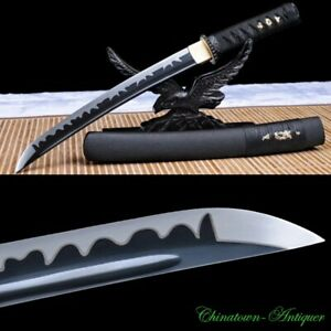 Japanese Tanto Short Sword Katana Samurai Sword High Manganese Steel Sharp #2584