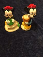 Disney Salt and Pepper Shakers Mickey Mouse's Nephews - Morty & Ferdie S & P Ne