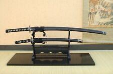 Miyamoto Musashi Samurai Ninja Double Sword set Made in JAPAN NAMAKOSUKASHI