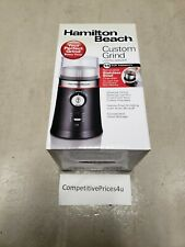 Hamilton Beach Coffee Bean Grinder Custom Grind Auto Shut Off 80393 14 Cup