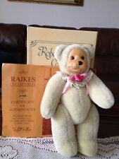 Raikes Bear, Rosie, Limited Edition, Hand Signed,Numbered 407/1500 1996, 12�