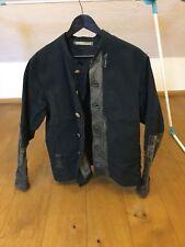 Vintage Goth Steampunk Jacke Herren schwarz Gothic black jacket Militär