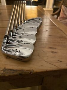 Callaway MB 18 Irons 6-AW | KBS C-Taper Lite 110 Stiff shafts. Great Condition